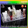 Customized acrylic cosmetic counter top display case