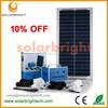 Solarbright portable mini LED rechargeable home lighting mini emergency complete portable mini solar power home solar systems