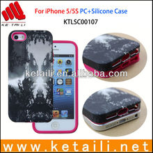 Good Quality OEM Combined PC+Silicone Mobile Phone Case Manufacturer