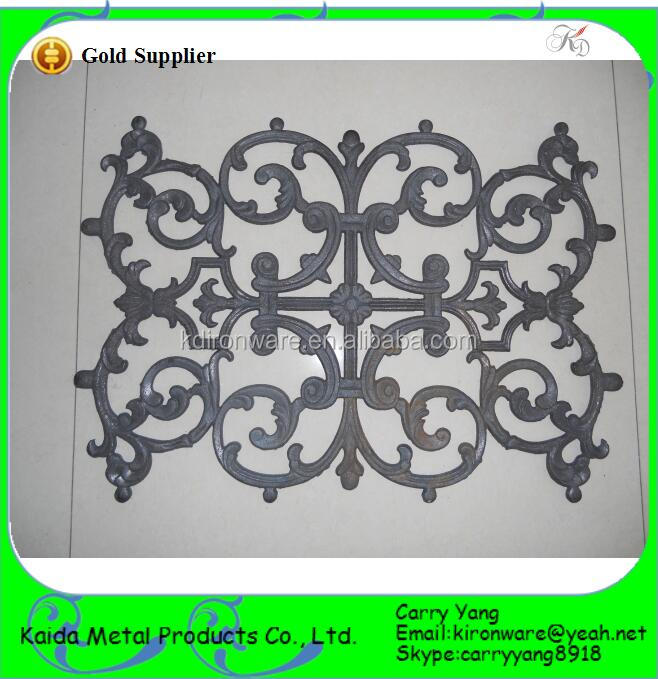 Ornamental Cast Iron Panels For Wrought Iron Fireplace Screen Buy Ornamental Cast Iron Panels