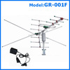 high gain booster tv antenna rotatable antena model GR-001F