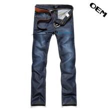 Fashion slim fit men jeans,long waterwashed pants