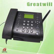 fashion cdma sim card gsm fixed wireless desktop phone records