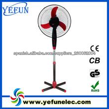 "Fs-1603 de alta potencia de ca 110v baratos 16"" ventilador de pedestal 40cm china"