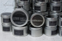 Extreme Vanilla 100% Natural Soy Essential Oil Candle
