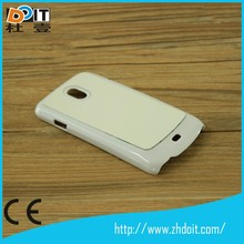 New design TPU rubber sublimation cases for samsung nexus I9250 cover case