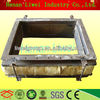 warm keeping rock wool and rubber fabric expansion joint
