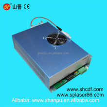 100-120W CO2 laser power supply for SP/EFR/YONGLI/RECI CO2 laser tube for yueming laser golden laser machines