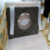 Promotion commercial bathroom sink countertop/various molded sink countertop/wholesale granite countertop