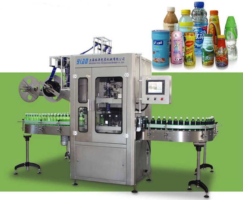 shrink label machine