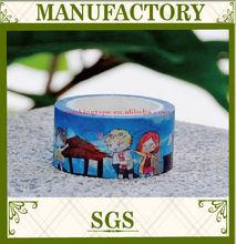 2015 lovely cartoon washi tape ,kawaii patterns washi masking tape