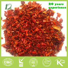 new crop free of additives dry red bell pepper