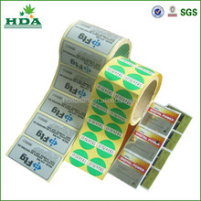 Cheap price custom adhesive printing barcode labels in roll,