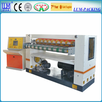 LUM-A/B/C high speed double helical knife cross cutter/corrugated cardboad production line/paper cutting machine/in cangzhou