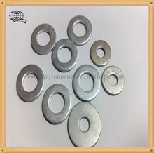 carbon steel zinc plated hot dip galvanized HDP black Hardened Flat Washer