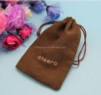 CBRL velvet pouch velvet gift bag velvet drawstring bag for jewelry gift iphone PSP custom logo
