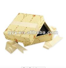 2012 Luxry Perfume paper gift box with ribbon