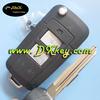 High quality New style 2 buttons Folding key case for hyundai key case hyundai terracan key