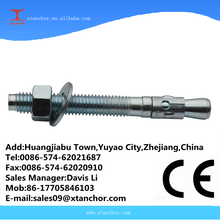 M12x110 carbon steel BZP wedge anchor for concret