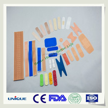 FDA blue color wound care fabric band aid
