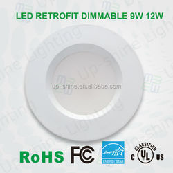 """Shenzhen factory direct sales 4""""/5""""/6"""" LED light downlight, LED downlight 12w with UL Energy Star approved"""
