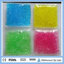 Microwaveable heating pad beads