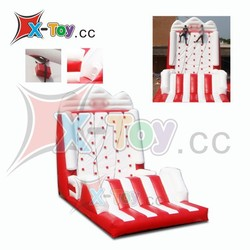 Red and white Inflatable sports game/inflatable climbing