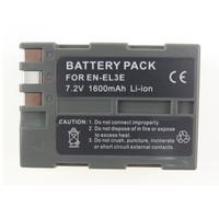 MELASTA Battery for Nikon EN-EL3E D100 D200 D300 D300S D50 D70 D70S D700 D80 D90 7.4V 1600mAh Li-ion Battery