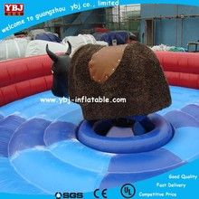 Popular market inflatable sporting mechanical bull for sale