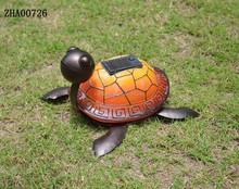 2015 Hot Metal turtle decorative solar garden lights