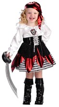 Kid's pirate Costume girl's fancy dress Costume piratel uniforms cosplay Dress Halloween pirate costume