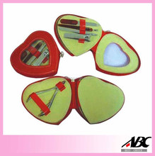 Mother Day's Gift Set Heart Shape Manicure Set