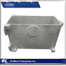 Aluminum Sand Casting Coolant Tank for Industrial Saw