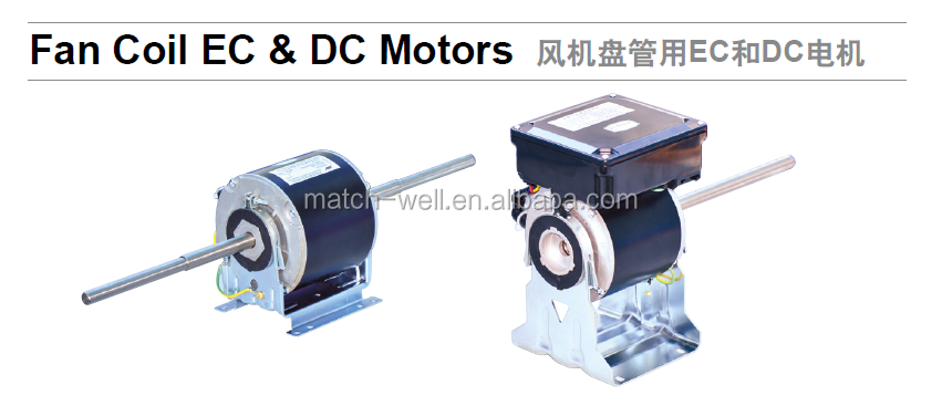 Air Conditioner Condenser Fan Coil Small And High