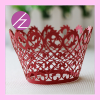 DG-33 unique design mini cupcake wrappers for party wedding supply