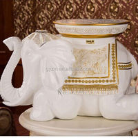 gift craft from Chinese top resin supplier plastic elephant durable and eniment