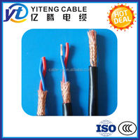 Low Voltage PVC insulated PVC sheathed Braid Shielded Control Cable