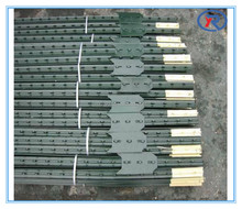 cheap price Metal studded T post steel fence post from CHINA