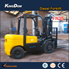 3.5Tons diesel counterbalance forklift truck, diesel fork lifter with China Isuzu engine