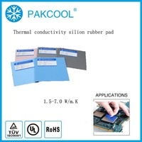 400x200x3.0mm Ultrathin adhesive silicone pad for PCBA TP 215 3.0 mm