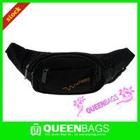 Black latest design running waist pack in sport wholesale in stock