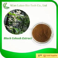Cimicifuga Racemosa Extract Black Cohosh Root Extract 1% -20% Triterpene Glycosides