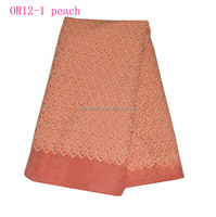 OR12-1-peach- new arrival african lace organza