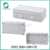 200*100*70 IP65 enclosure plastic connection junction box