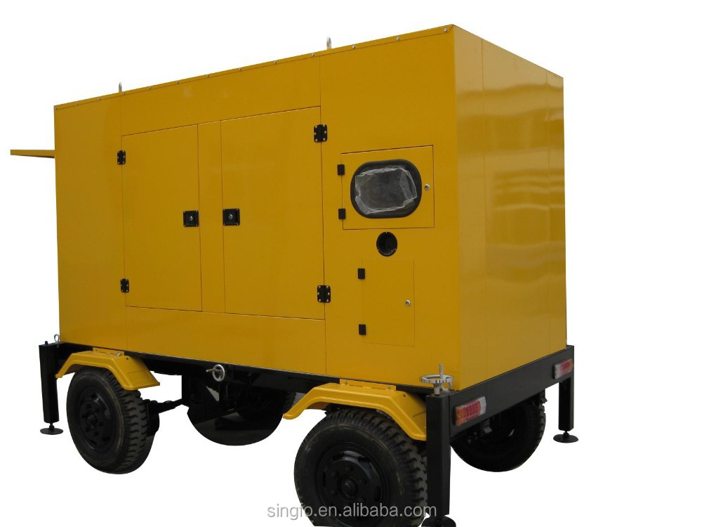 Tailer type magnetic motor electric diesel generators for Magnetic motor electric generator for sale