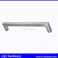 furniture cabinet square pull , square tube handle, hollow handle