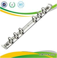 Fashion notebook metal 6 ring binder mechanism