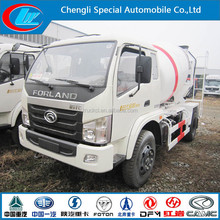 Foton mixer truck 4*2 from Forland mixer factory