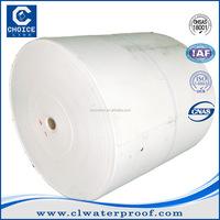 China supplier non-woven polyester mat for modified bitumen membrane