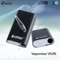 Alibaba express hingwong rex vaporizer Vapormax V5.0s, Flowermate Vapormax sweet puff glass pipe